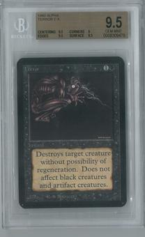 Magic the Gathering Alpha Single Terror BGS 9.5 (9, 9.5, 9.5, 9.5)