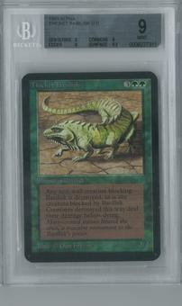 Magic the Gathering Alpha Single Thicket Basilisk BGS 9 (9, 9, 9, 9.5)