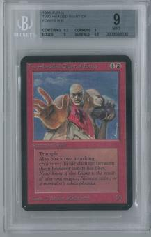 Magic the Gathering Alpha Single Two-Headed Giant of Foriys BGS 9 (9, 9.5, 9, 8.5)