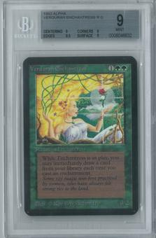 Magic the Gathering Alpha Single Verduran Enchantress BGS 9 (9, 9, 9.5, 9)