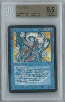 Magic the Gathering Alpha Single Wall of Air BGS 9.5 (9, 9.5, 9.5, 9.5)