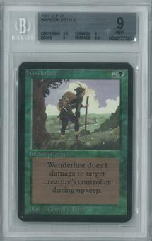 Magic the Gathering Alpha Single Wanderlust BGS 9 (9, 8.5, 9, 9.5)