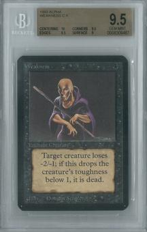 Magic the Gathering Alpha Single Weakness BGS 9.5 (9.5, 10, 9.5, 9)