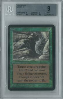Magic the Gathering Alpha Single Web BGS 9 (9, 9, 9.5, 8.5)