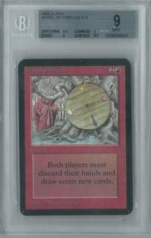 Magic the Gathering Alpha Single Wheel of Fortune BGS 9 (9, 9.5, 9, 8.5)