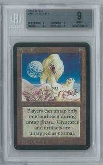 Magic the Gathering Alpha Single Winter Orb BGS 9 (9, 9, 9, 9)