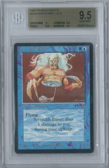 Magic the Gathering Arabian Nights Serendib Efreet Single BGS 9.5 (9, 9.5, 9.5, 9.5)