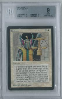 Magic the Gathering Beta Balance Single BGS 9 (9, 8.5, 9, 9)