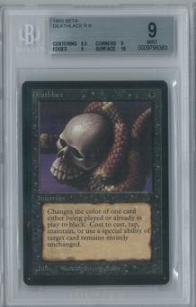 Magic the Gathering Beta Deathlace Single BGS 9 (9.5, 9, 9, 10)