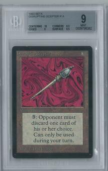 Magic the Gathering Beta Disrupting Scepter Single BGS 9 (10, 8.5, 9, 9.5)