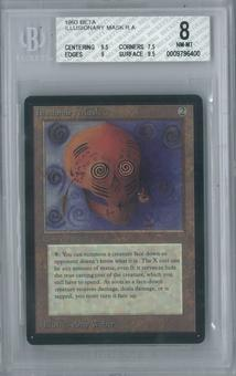 Magic the Gathering Beta Illusionary Mask Single BGS 8 (9.5, 7.5, 9, 9.5)