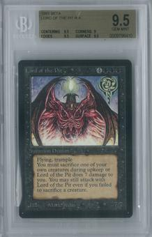 Magic the Gathering Beta Lord of the Pit Single BGS 9.5 (9.5, 9, 9.5, 9.5)
