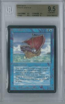 Magic the Gathering Beta Pirate Ship Single BGS 9.5 (9.5, 9.5, 9.5, 9)