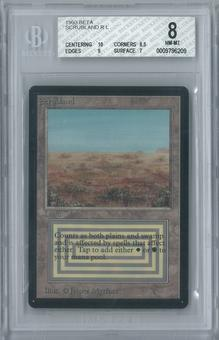 Magic the Gathering Beta Scrubland Single BGS 8 (10, 8.5, 9, 7)