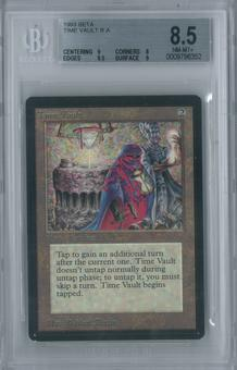 Magic the Gathering Beta Time Vault Single BGS 8.5 (9, 8, 9.5, 9)