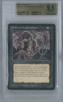 Magic the Gathering Legends Chains of Mephistopheles Single BGS 9.5 (10, 9.5, 9.5, 10)