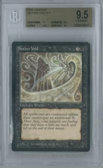 Magic the Gathering Legends Nether Void Single BGS 9.5 (9, 9.5, 9.5, 10)