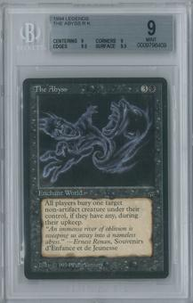 Magic the Gathering Legends The Abyss Single BGS 9 (9, 9, 9.5, 9.5)