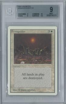 Magic the Gathering Unlimited Armageddon Single BGS 9 (9, 10, 9, 9.5)