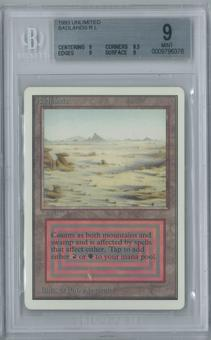 Magic the Gathering Unlimited Badlands Single BGS 9 (9, 8.5, 9, 9)