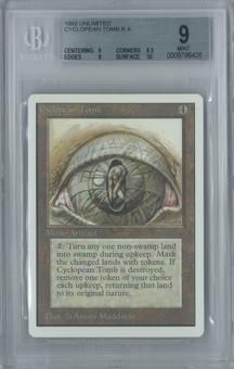Magic the Gathering Unlimited Cyclopean Tomb Single BGS 9 (9, 8.5, 9, 10)