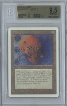 Magic the Gathering Unlimited Illusionary Mask Single BGS 9.5 (10, 9, 9.5, 9.5)