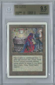 Magic the Gathering Unlimited Time Vault Single BGS 9.5 (9.5, 9.5, 9.5, 9.5)