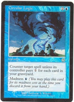 Magic the Gathering Torment Single Circular Logic Foil (NM)