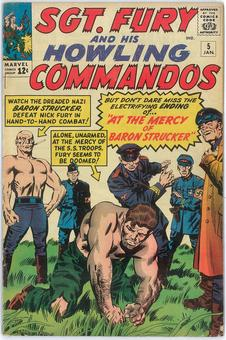 Sgt. Fury and HIs Howling Commandos #5  VG/FN