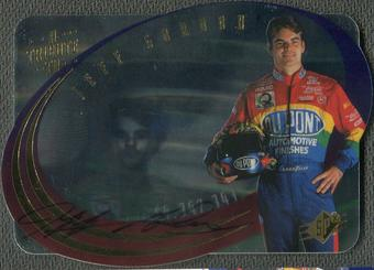 1996 SPx Racing #T1A Jeff Gordon Auto