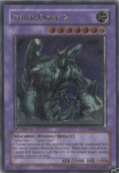 Yu-Gi-Oh Cyberdark Impact Single Cyber Ogre 2 Ultimate Rare