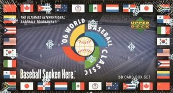 2006 Upper Deck World Baseball Classic Factory Box Set