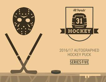 2016/17 Hit Parade Autographed Hockey Puck Edition Series 5 Box Crosby, McDavid, Ovechkin!!!