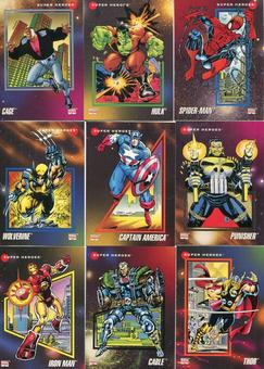 Impel 1992 Marvel Universe Series 3 Complete 200 Card Set