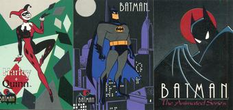 Topps 1993 Batman The Animated Series Complete 100 Card Set