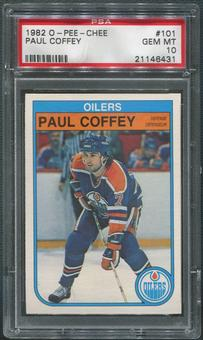 1982/83 O-Pee-Chee Hockey #101 Paul Coffey PSA 10 (GEM MT)