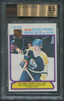 1980/81 O-Pee-Chee Hockey #3 Wayne Gretzky Record Breaker BGS 9.5 (GEM MINT)