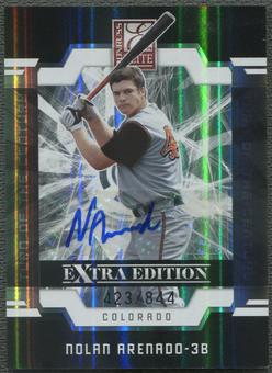 2009 Donruss Elite Extra Edition #6 Nolan Arenado Signature Turn of the Century Rookie Auto #423/844