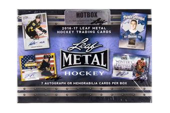 2016/17 Leaf Metal Hockey Hobby HOT Box