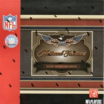 2006 Playoff National Treasures Football Hobby Box