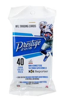 2016 Panini Prestige Football Fat Pack