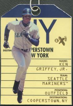 1998 E-X2001 #7 Ken Griffey Jr. Destination Cooperstown