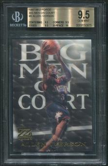 1997/98 Z-Force #8 Allen Iverson Big Men on Court BGS 9.5 (GEM MINT)