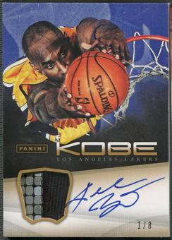 2012/13 Panini Kobe Anthology #14 Kobe Bryant Patch Auto #1/8