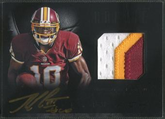 2012 Panini Black #2 Robert Griffin III Rookie Signature Black Patch Auto #21/25