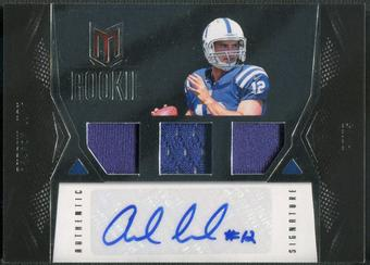 2012 Momentum #101 Andrew Luck Rookie Jersey Auto #261/399