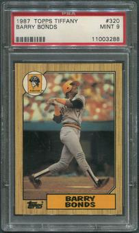 1987 Topps Tiffany Baseball #320 Barry Bonds Rookie PSA 9 (MINT)