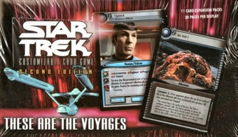 Decipher Star Trek These are the Voyages Booster Box