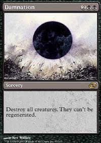 Magic the Gathering Planar Chaos Single Damnation - MODERATE PLAY (MP)