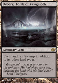 Magic the Gathering Planar Chaos Single Urborg, Tomb of Yawgmoth - SLIGHT PLAY (SP)